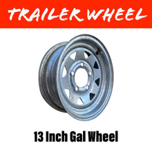 Load image into Gallery viewer, 13 INCH GALVANISED WHEEL