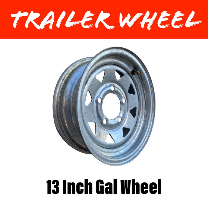 13 INCH GALVANISED WHEEL
