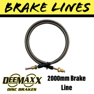2000MM FLEXIBLE STAINLESS STEEL Brake Line