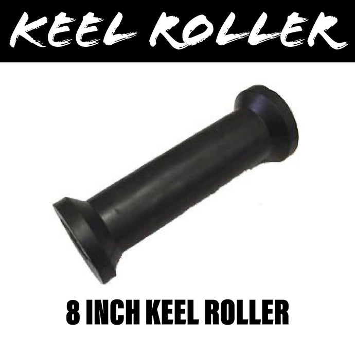 8 INCH BLACK RUBBER Centre Roller