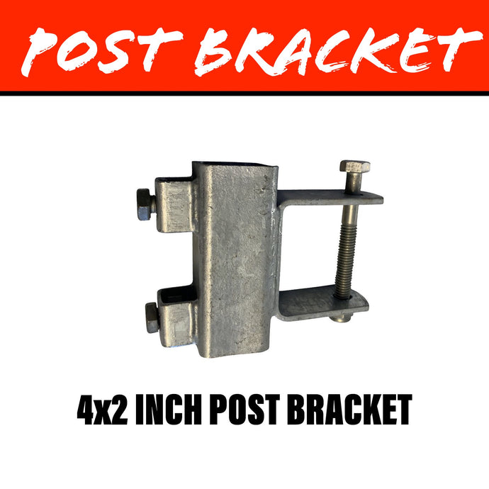 40MM SQUARE Post Bracket 100X50MM