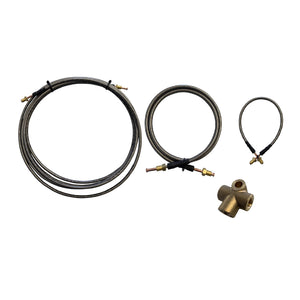 6000MM S/S FLEXIBLE Brake Line Kit