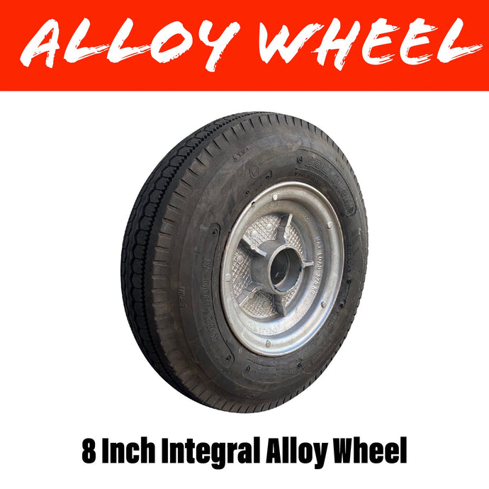8 x 3 INCH INTEGRAL ALLOY WHEEL
