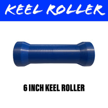 Load image into Gallery viewer, 6 INCH BLUE NYLON Centre Roller