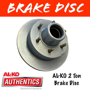 AL-KO 2 Ton Brake Disc 6 Stud