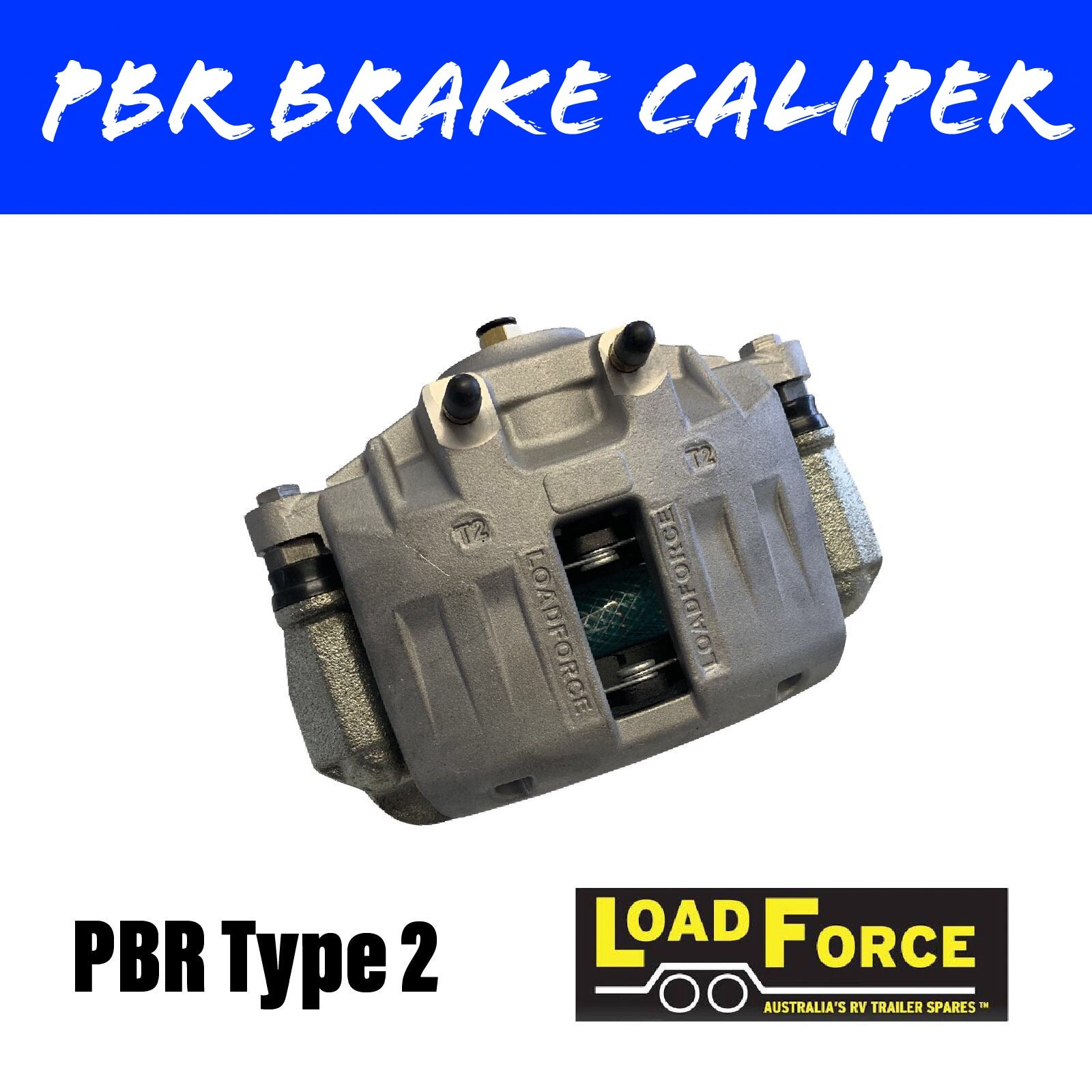 LOADFORCE PBR TYPE ALUMINIUM Brake Caliper