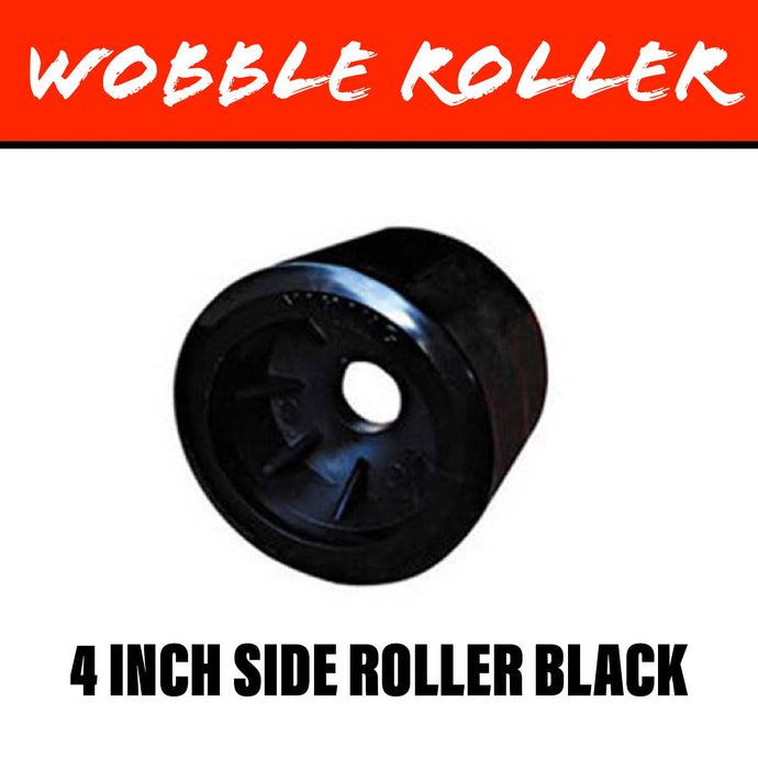 4 INCH BLACK Wobble Roller