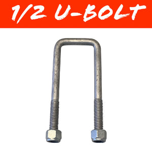 40mm x 115mm SQUARE U-BOLT