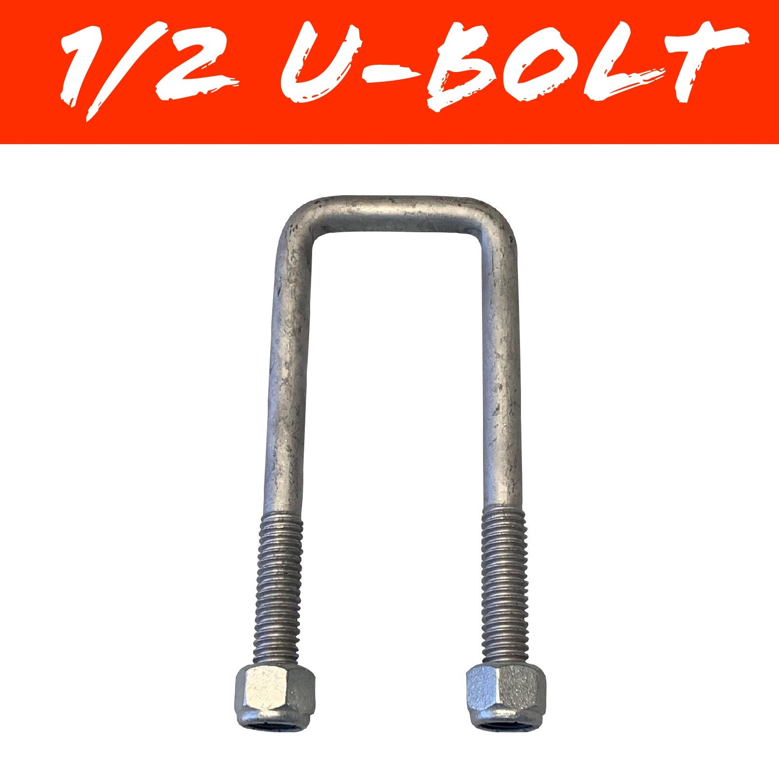 50mm x 100mm SQUARE U-BOLT
