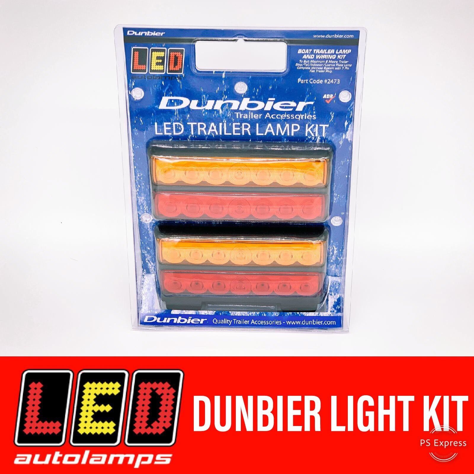 LED AUTOLAMPS DUNBIER TAILLIGHT KIT 8M