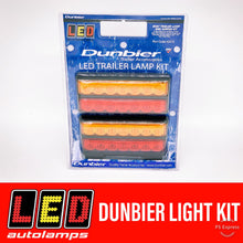 Load image into Gallery viewer, LED AUTOLAMPS DUNBIER TAILLIGHT KIT 8M