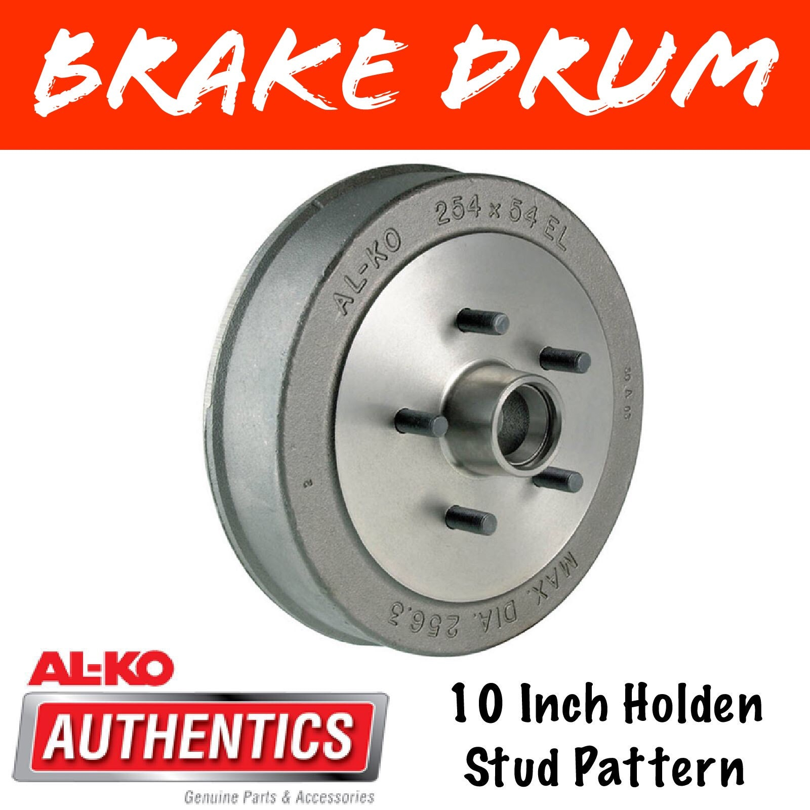 AL-KO 10 Inch HT Holden Brake Drum