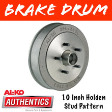Load image into Gallery viewer, AL-KO 10 Inch HT Holden Brake Drum