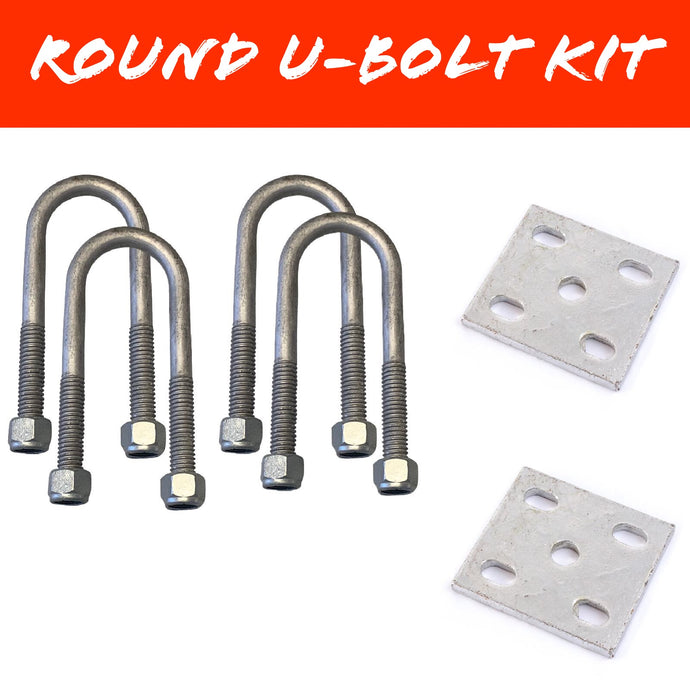 50mm x 125mm ROUND U-BOLT KIT