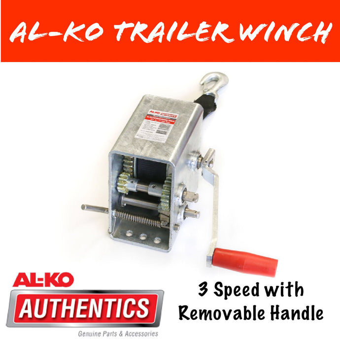 AL-KO 5:1 MARINE WINCH With 6M Webbing Strap