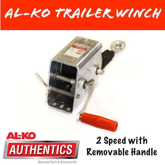 AL-KO 3 SPEED 10:1 Marine Winch with Strap