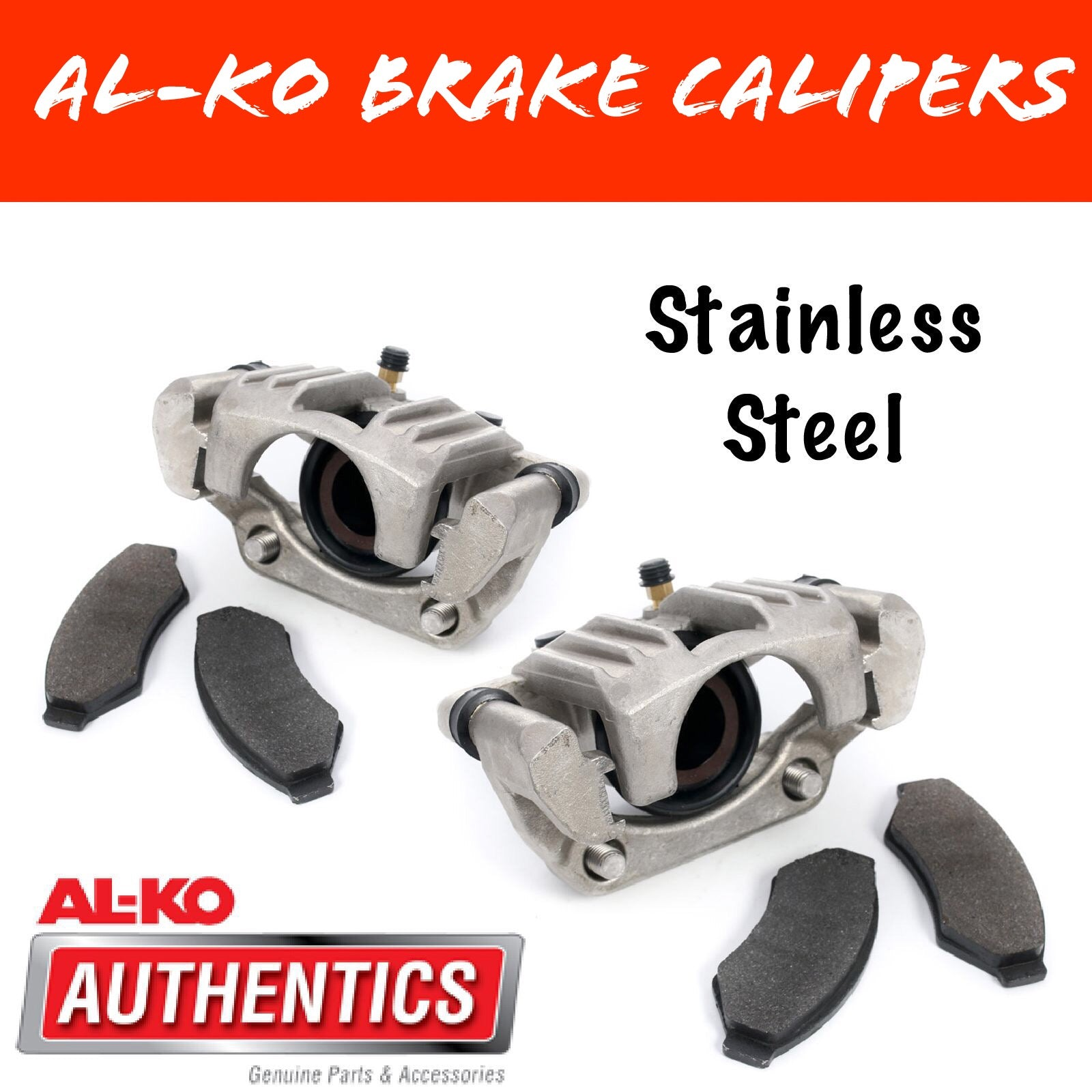 AL-KO STAINLESS STEEL Hydraulic Brake Calipers