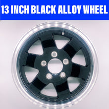 Load image into Gallery viewer, 13 INCH KOYA BLACK ALLOY WHEEL FORD 5 STUD