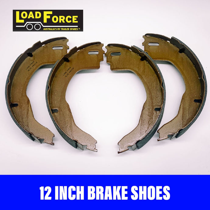 LOADFORCE 12 INCH BRAKE SHOES AL-KO STYLE