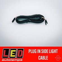 Load image into Gallery viewer, LED AUTOLAMPS PLUG IN CLEARANCE LIGHT WIRING 3 METRE