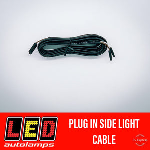LED AUTOLAMPS PLUG IN CLEARANCE LIGHT WIRING 3 METRE