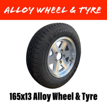 Load image into Gallery viewer, 13 INCH ALLOY WHEEL AND TYRE (MULTIPLE SIZES)