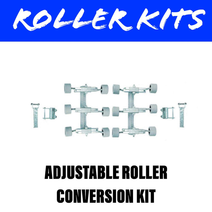 REAR ADJUSTABLE Wobble Roller Kit Pair