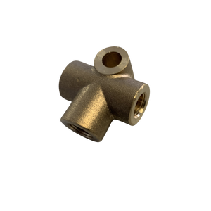 3 WAY BRASS Brake Line Adaptor