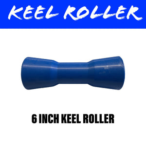 6 INCH BLUE NYLON Centre Roller