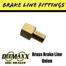 Load image into Gallery viewer, BRASS Brake Line Union