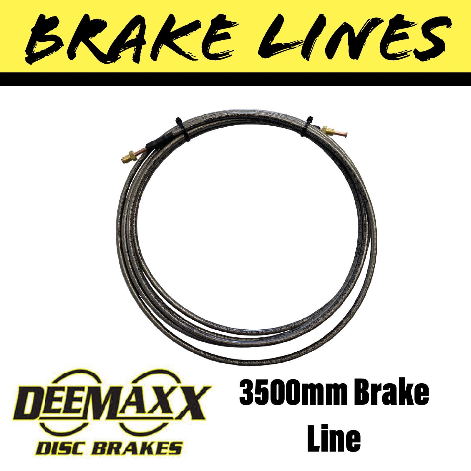 3500MM FLEXIBLE STAINLESS STEEL Brake Line