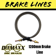 Load image into Gallery viewer, 1200MM FLEXIBLE STAINLESS STEEL Brake Line