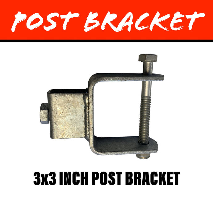 20MM SQUARE Post Bracket 75X75MM
