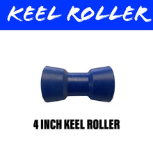 Load image into Gallery viewer, 4 INCH BLUE NYLON Centre Roller