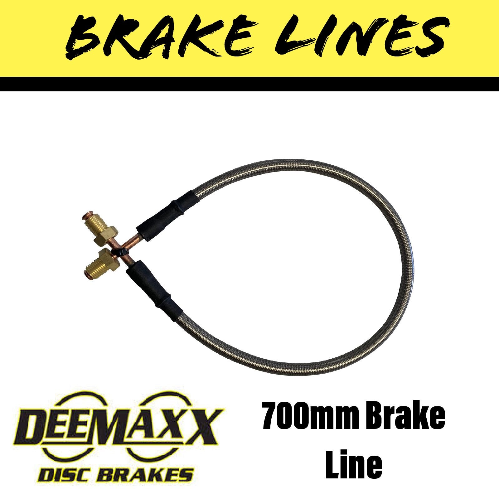 700MM FLEXIBLE STAINLESS STEEL Brake Line
