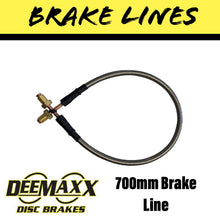 Load image into Gallery viewer, 700MM FLEXIBLE STAINLESS STEEL Brake Line