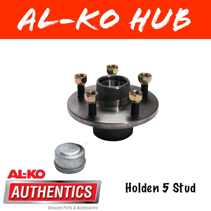 AL-KO HT HOLDEN UNBRAKED HUB WITH FORD WHEEL BEARINGS