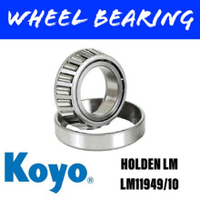 Load image into Gallery viewer, KOYO LM11949/10 Wheel Bearing