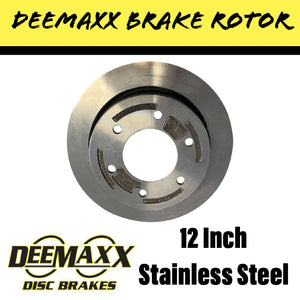 DEEMAXX 12 INCH STAINLESS STEEL Ventilated Brake Rotor