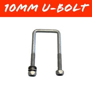 100mm x 100mm 10mm GAL U-BOLT