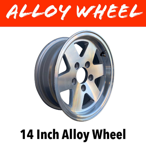 14 INCH ALLOY WHEEL