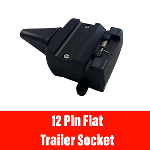 12 PIN FLAT TRAILER SOCKET