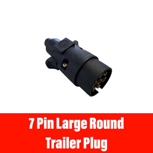 7 PIN LARGE ROUND TRAILER PLUG
