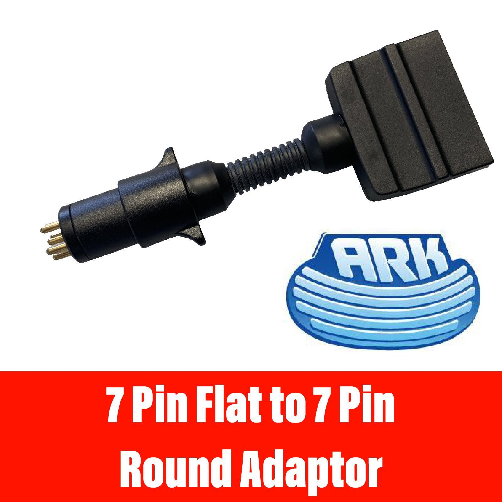 ARK 7 PIN FLAT TO 7 PIN Round Adaptor