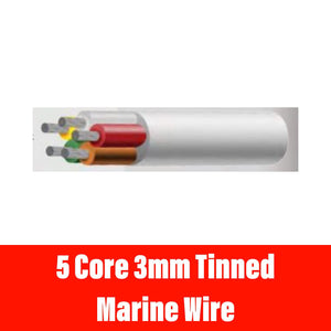 5 CORE 3MM TINNED MARINE WIRE