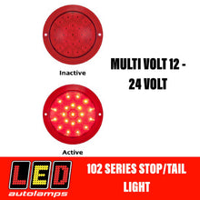 Load image into Gallery viewer, LED Autolamps 102 Series Single Function Stop/Tail LED Light