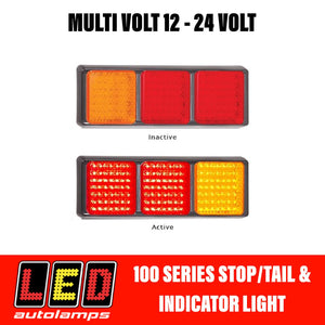 LED Autolamps 125 Series Stop/Tail and Indicator LED Light 5 Year Warranty