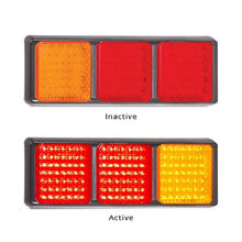 Load image into Gallery viewer, LED Autolamps 125 Series Stop/Tail and Indicator LED Light 5 Year Warranty