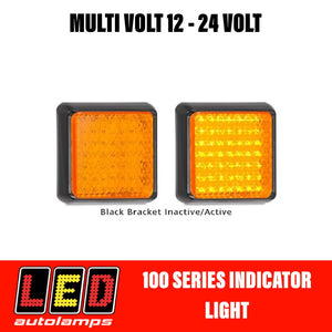 LED Autolamps 100 Series Single Function Orange Indicator LED Light