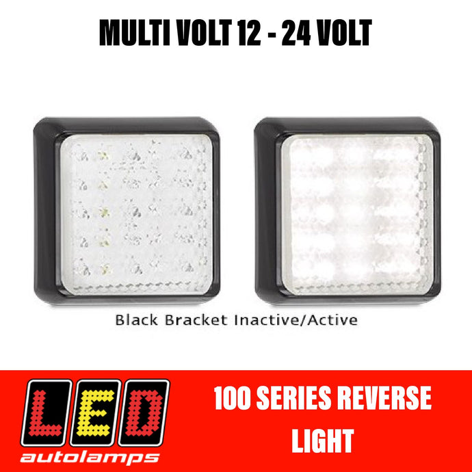 LED Autolamps 100 Series Single Function White Reverse LED Light